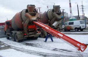 Гидролоток для подачи бетона 7 метров