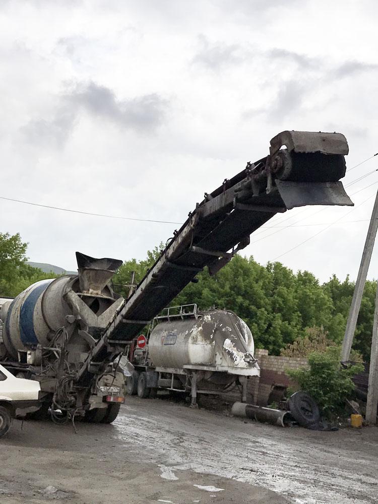 Бетон транспортерная лента как сделать известково цементный раствор
