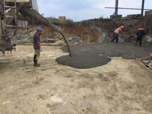Внутренние и наружные бетонные работы